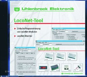 Uhlenbrock-19100-Loconet-Tool-New-in-Original-Package