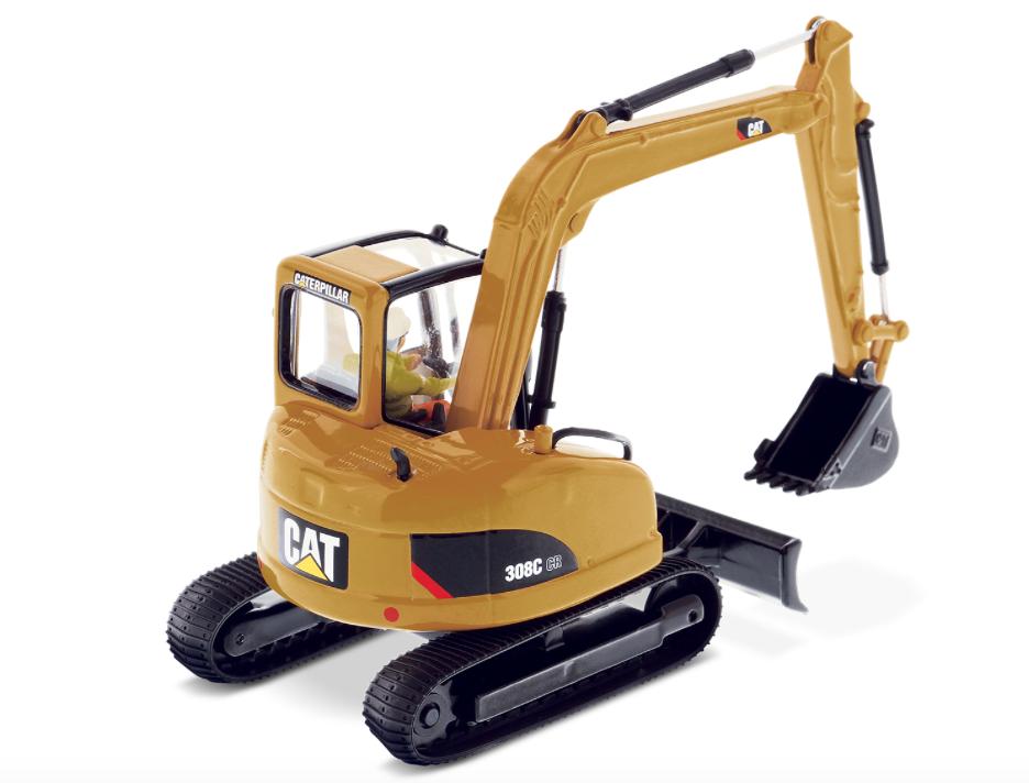 Diecast Masters 85129 échelle 1 50 Cat 308 C CR Excavateur hydraulique