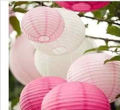 "LOT OF 5/10 PCS OF 10"" Chinese Paper Lantern Wedding Party Decoration"