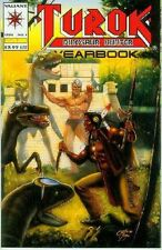 Turok, Dinosaur Hunter Yearbook # 1 (52 pages, sturdy cover) (Valiant USA, 1994)