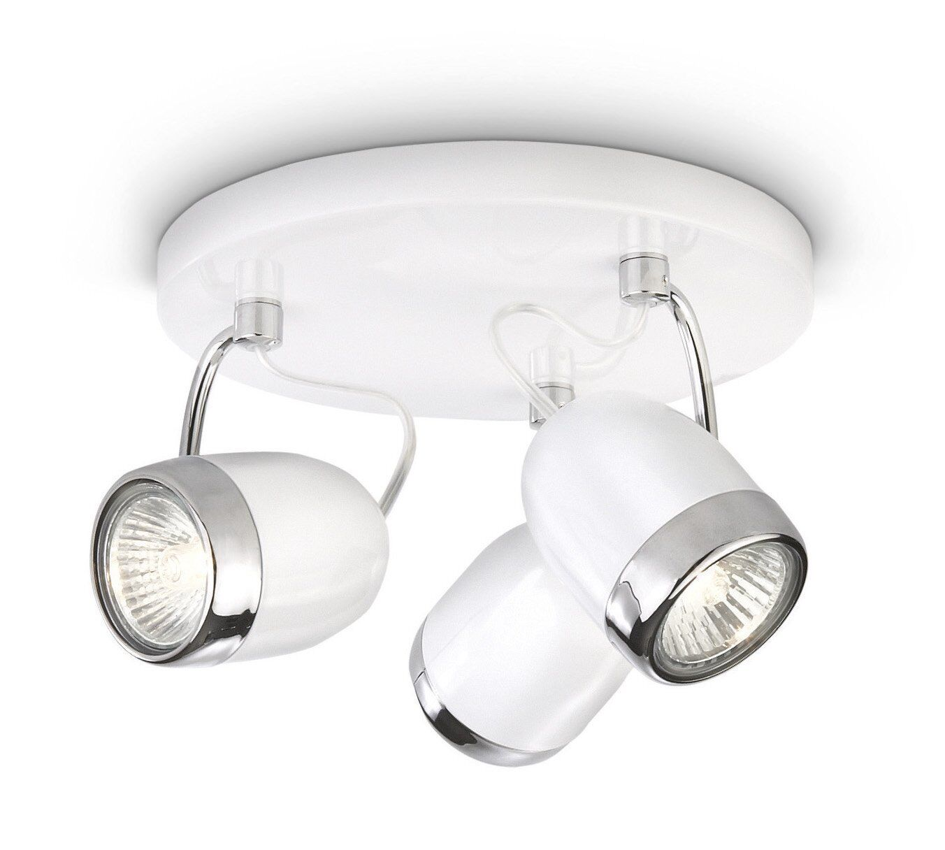 Philips myLiving Balsa 3 Spotlight Spiral Ceiling Light White ampoules incluent ampoules White 35 W c2a8ac