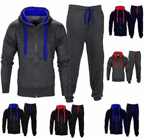 949532786 NEW KIDS TRACKSUIT SET FLEECE HOODIE TOP   BOTTOMS JOGGERS BOYS ...