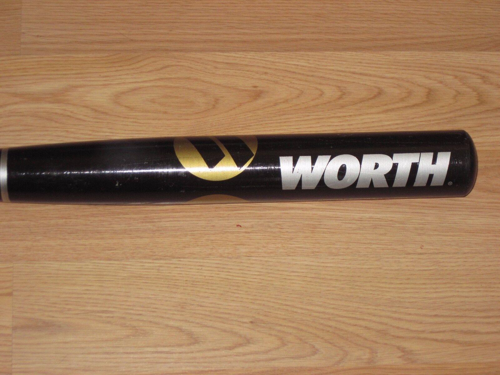 Vale la pena Softbol bate SW4 34  26oz Negro Usa Made in Tullahoma Tennessee   envío Gratis