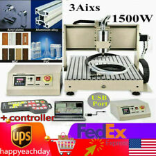 Usb 3 Axis 1500w 6040 Cnc Router Engraver Engraving Milling Machine 3d Cutterrc