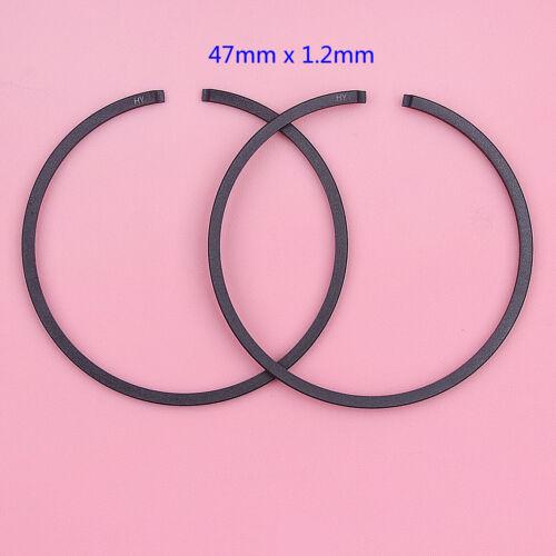 Piston Rings Set 45mm 39mm 35mm 47mm 32mm 33mm 36mm 37mm For Chainsaw Trimmer