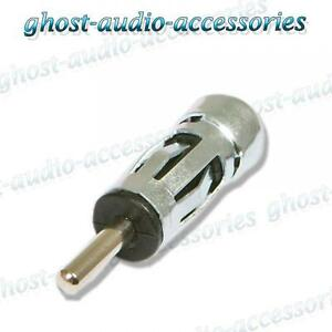CD ISO to DIN Antenna Adaptor for Car Radio Peugeot 107 Car Aerial