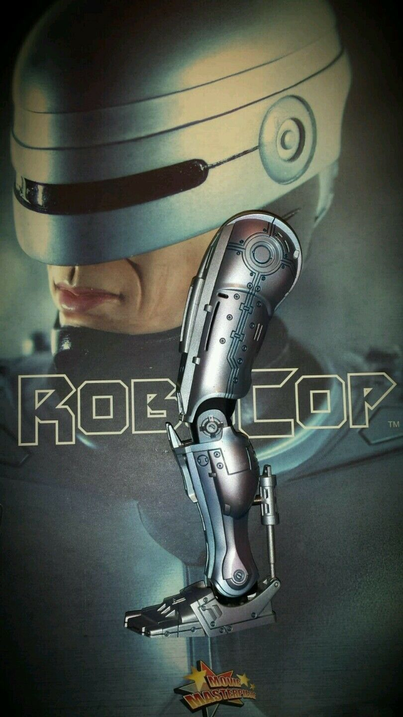 1 6 Hot Toys Robocop Left Leg MMS10 US Seller