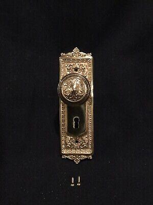 "Ornate Design Brass Knobs 1 1//2/"" 1243-PB"