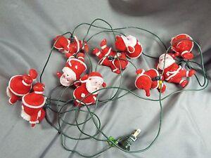 Flocked-Santa-Claus-String-Lights-Mid-Century-Vintage-Works