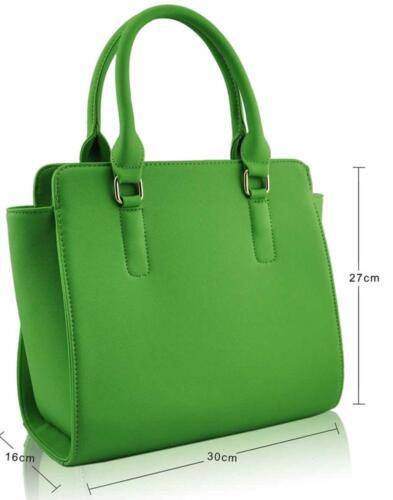 Women/'s Designer Bag Ladies New Celebrity Style Faux Leather Tote Handbags Large