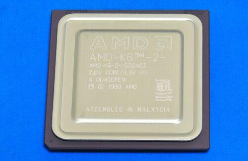 Ic AMD-K6-2E+//550ACZ 550 MHz Processeur Mobile AMD 6-2E+//550 amdk 62E+550ACZ