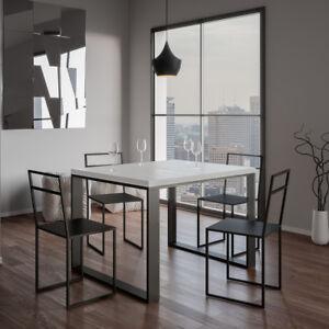 Tavolo allungabile tecno libra 90x120 salotto soggiorno for Soggiorno cucina moderno