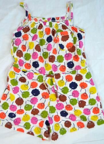 Mini Boden playsuit Girls cotton summer print vest shorts NEW 2 3 4 5 romper