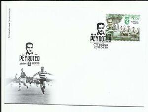 Portugal-2018-Centenary-Fernando-Peyroteo-striker-set-FDC