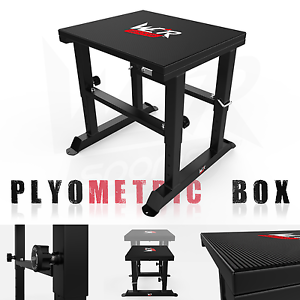 553161656a3 Details about Adjustable Plyometric Box 16