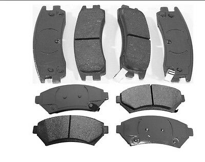2012-2014 TOYOTA SIENNA COMPLETE SET OF REAR BRAKE PADS MD1391 NEW