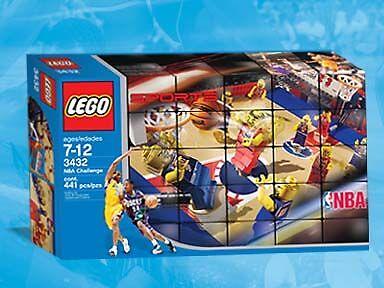 LEGO sport basket 3432 NBA Challenge Neuf Scellé