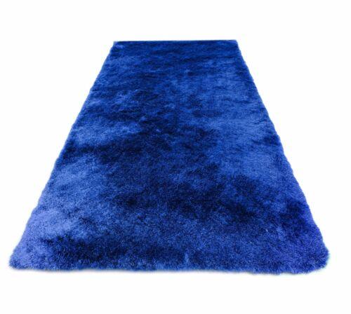 D/'un Épais Shaggy Tapis Gentle Luxe-Mer Bleu//Flokati-Doux