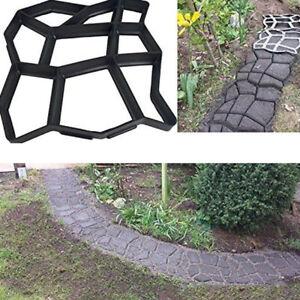 DIY Garden Path Maker Mould Stone Walk Road Stone Mold Paving Cement