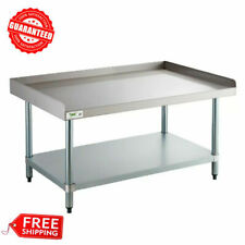 New Regency 30 X 48 Stainless Steel Work Prep Table Commercial Equipment Stand