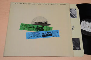 BEATLES-LP-AT-THE-HOLLYWOOD-1-ST-ORIG-UK-1977-NM-UNPLAYED-YEX-970-3U