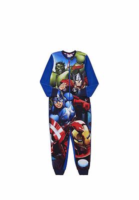 Marvel Avengers A Boys Fleece One Piece Sleepsuit
