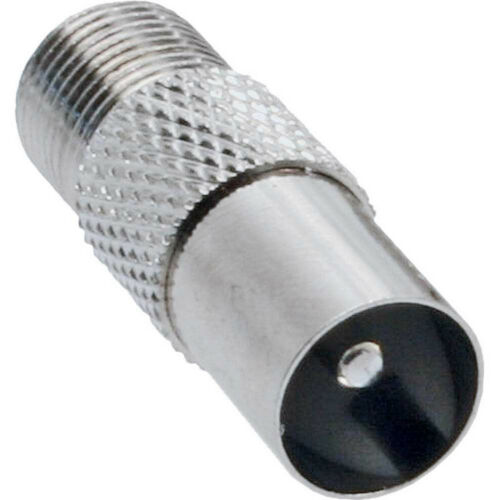Coaxial Adapter IEC male antenna to F-Plug female