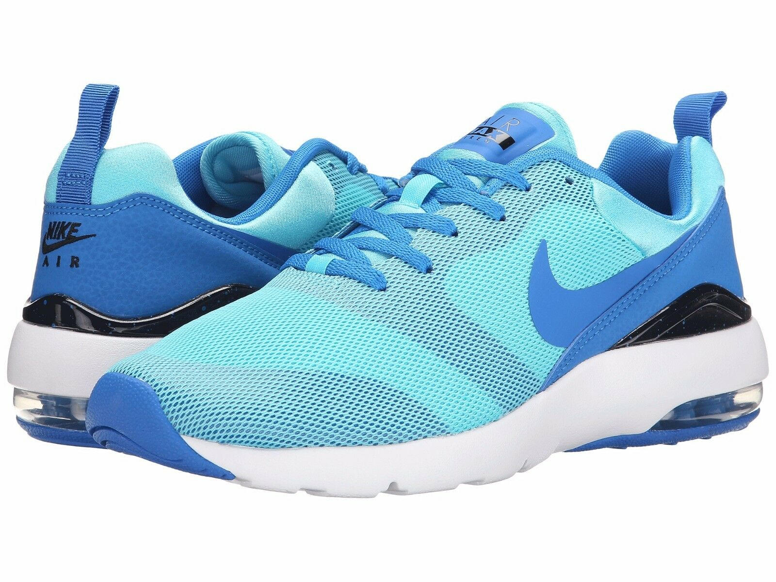 Para Mujer Nike Air Max Max Max Sirena Piscina Azul/Negro-blanco Tallas 6-10 Nuevo En Caja 94e23b