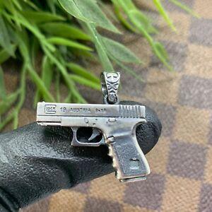 Glock-Handmade-Silver-Pendant-High-Quality