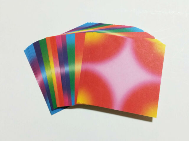 "3"" 10 Color Korean Crane Folding Paper 80 Sheets"