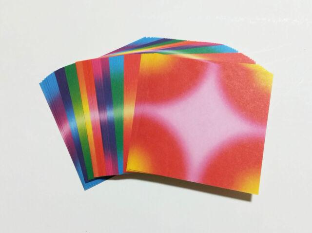 "3"" 10 Color Korean Crane Folding Paper 80 Sheets"