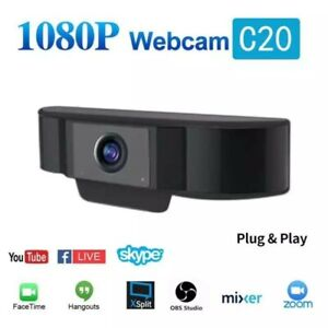 USB-HD-Webcam-1080p-Computer-Webcam-With-Microphone-Webcams-Built-In-Sound-absor
