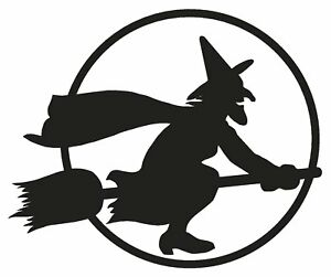 Witches-Halloween-Cauldron-Magic-Spells-Broom-Vinyl-Decal-Stickers-sma-SM7-54