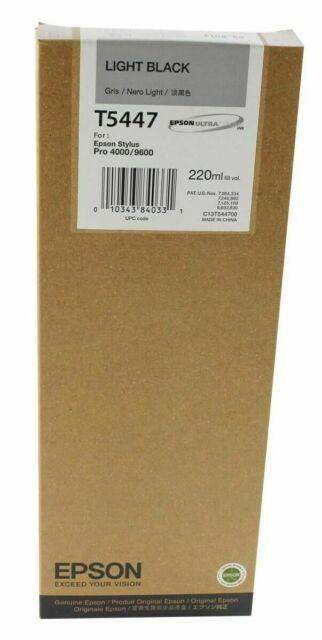 Genuine Epson T5447 Light Black Ink Cartridge (C13T544700) - No Box