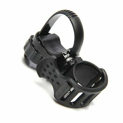 Support Flashlight Lamp Light flashlight holder Color Black Bike Handlebar