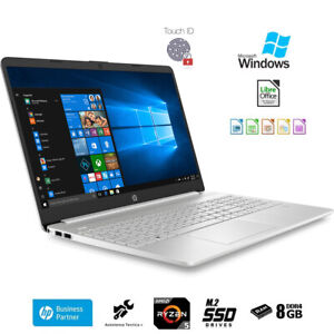Notebook-Hp-Ryzen-5-3500U-Display-FHD-15-6-034-Ram-8Gb-Ssd-M-2-500Gb-Windows-10-Pro