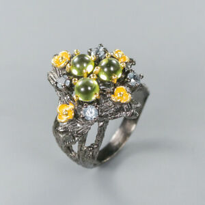 Fine-Art-Design-Natural-Peridot-925-Sterling-Silver-Ring-Size-8-R124500