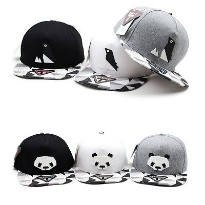 Unisex Mens Womens Panda Penguin Paper Folding Origami Baseball Cap Hip-hop Hats