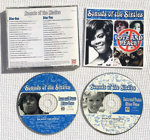 Sounds-of-the-sixties-Love-and-Peace-time-life-RARE-CD-TL-SCC-20-Holland-B-V