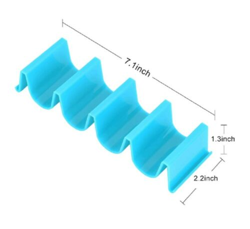 3 Pcs Taco Holder Mexican Food Wave Shape Hard Rack Stand Kitchen Cooking Tool