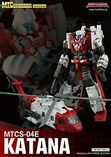 Transformers G1 Blades Maketoys MTCombiner Guardia CM04E Katana in USA Now!