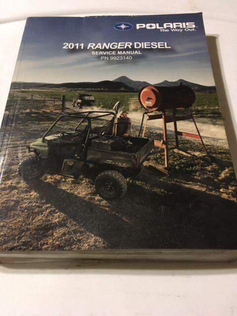 2011 Ranger Diesel Polaris Factory Repair Service Manual