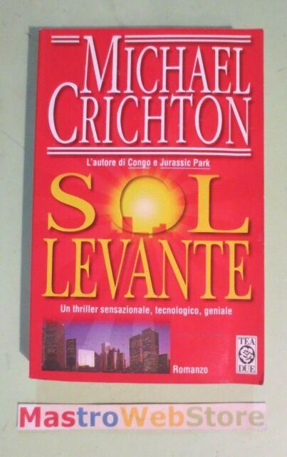 MICHAEL CRICHTON - SOL LEVANTE - ED.1997 TEA [L93]