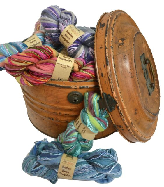 Fibra Natura  BAMBOO BLOOM HANDPAINTS Yarn 100g Hank - Wool/ Bamboo/Rayon