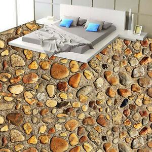 Pebble Rock Stones Floor Mural Photo