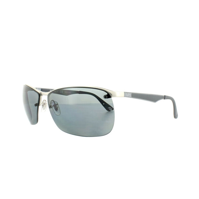 3e5f7e1da44 Sunglasses Ray-Ban Light Rb3550 019 81 64 Matte Silver Polarized