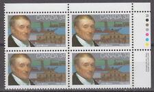 CANADA #1117 34¢ John Molson UR Plate Block MNH