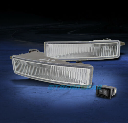 2003-2007 SCION XB BUMPER CHROME FOG LIGHT LAMP W//BULB+SWITCH KIT 2004 2005 2006