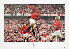 Ruud van Nistelrooy hand signed Manchester United Limited Edition Print