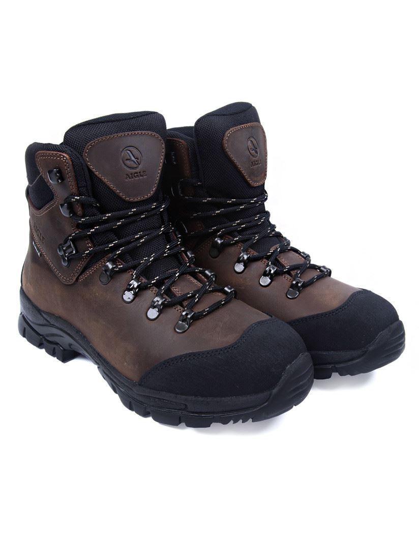 Aigle Laforse Walking Boot Brown (Hiking Hunting)